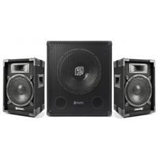 Sistema Amplificato 1400 W Serie Pro Art. 170760 e170652