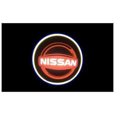 Proiettori Con Led Per Auto Con Il Logo Nissan