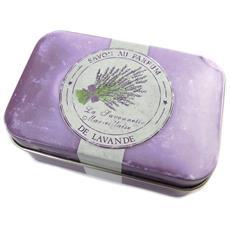 scatola di metallo 'savon de lavande' viola - [ n6549]
