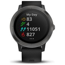 Vivoactive 3 Sportwatch con GPS Bluetooth e Cardiofrequenzimetro Colore Nero / Grigio
