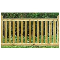 Steccato Windsor In Legno 180 X 90 H. C. Jagram
