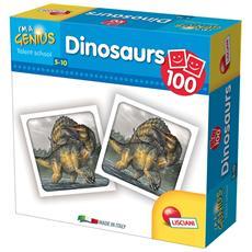 Piccolo Genio - Super Mini Memo - 100 Dinosaurs