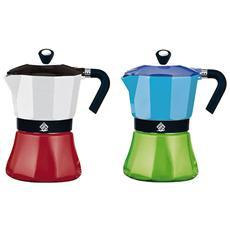 Caffettiera Alluminio Coffee Tazze 1 Caffettiere E Guarnizioni