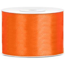 Nastro Satinato Arancione 5 Cm X 25 Metri Taglia Unica