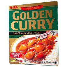 Preparato Per Curry Giapponese Golden (medio Piccante) - 230 G