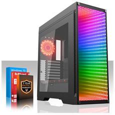 Sniper Gaming Pc - Veloce 4-6ghz Hex-core Intel Core I7 8700 - 1tb Azionamento Ibrido Seagate Firecuda Solid State - 8gb Di 2666mhz Ddr4 Ram / Memoria - Nvidia Geforce Gtx 1060 6gb - Windows 10