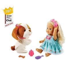 Little Love Lou Joue Avec Son Toutou bambola