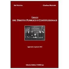 Leggi del diritto pubblico e costituzionale