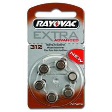 Batterie acustica Rayovac 312, senza mercurio