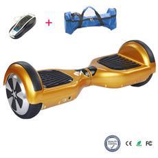 COOL&FUN - 6.5 Pollici Hoverboard Smart Balance Monopattino Elettrico Pedana Scooter Due Ruote Gold