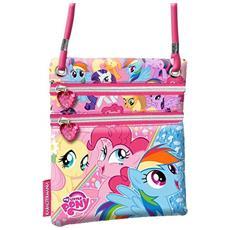My Little Pony Borsetta Verticale Doppia Cerniera