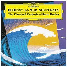 Claude Debussy - Le Mer / Nocturnes - Pierre Boulez