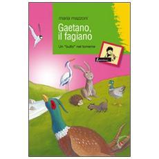 Gaetano, il fagiano. Un «bullo» nel torrente