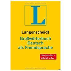 Großwörterbuch deutsch als fremdsprache