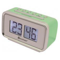 Sveglia e Cronometro Digitale Verde 13.8 x 6.5 x 8 cm UR105GR-EU