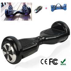 6.5 Pollici Hoverboard Smart Balance Monopattino Elettrico Pedana Scooter Due Ruote Nero