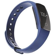 "Activity Tracker T-Fit Display 0.49"" Bluetooth con Cardiofrequenzimetro e Pedometro Blu – Italia"