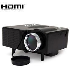 Proiettore Led 24v Mini Lcd Multimediale Led Videoproiettore Vga Hdmi Av Usb Sd