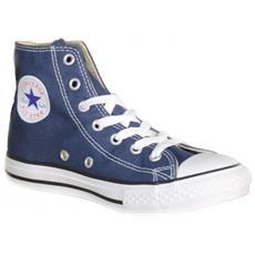 All Star Scarpe Sportive Bambino Blu Tela Lacci 3j233c 34