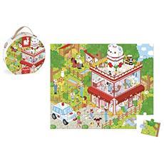 J02776 L'Ospedale degli Animali - Puzzle in Valigetta 36 Pezzi