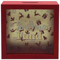 Christmas Fund Scatolasalvadanaio (one Size) (rosso)