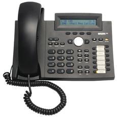 Telefono IP Snom 320 - Cavo - Nero - 1 x Linea totale - VoIP - Identificativo chiamante - Vivavoce - 2 x Rete (RJ-45) - PoE Ports