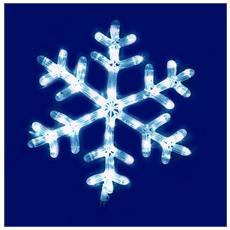 Fiocco Neve LED da 40 x 44 cm Bianco Freddo