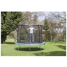 Jpco06 trampolino tappeto elastico rete salti jumppod combo 6 ft