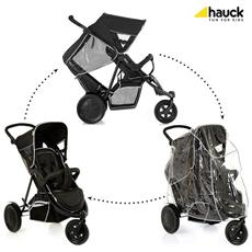 Passeggino Gemellare Freerider Black