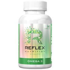 Omega 3 - 90 Caps - Reflex - Benessere, Cuore E Colesterolo -