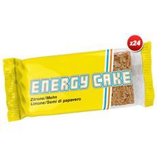 24x Energy Cake 125g - Energy Cake - Barrette Energetiche - Cioccolato
