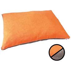 Cuscino Dual Arancio / Grigio M: 100 cm x 70 cm