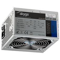 Akyga AK-B1-550 550W ATX Grigio alimentatore per computer