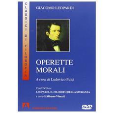 Operette morali. Con DVD
