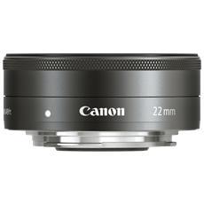 CANON - Obiettivo Grandangolare EF-M 22 mm f / 2 STM...