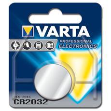 Batteria al Litio a bottone Varta - Tipo CR2032