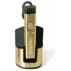 Shiver Auricolare Bluetooth 4.0 Colore Gold