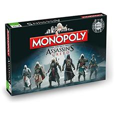 Assassins Creed Board Game Monopoly *french Version*