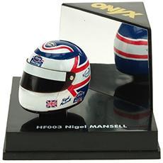 Hf003 Casco F. 1 Nigel Mansell 1/12 Modellino