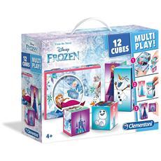 Puzzle Cubi 12 Pezzi Frozen