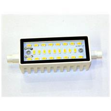 Lampada Led R7s 10w 118mm 830 Lumen Luce Bianco Naturale 4000k 230v