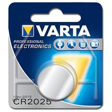 Batteria al Litio a bottone Varta - Tipo CR2025