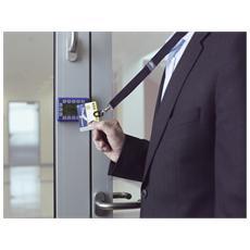 CARD FIX, Badge holder, Nero