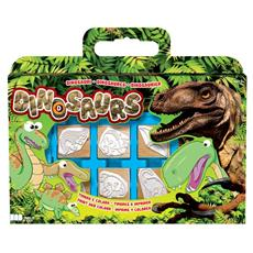 Valigetta 7 Timbri Dinosauri