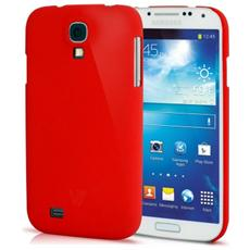 Cover Metro Anti-Slip per Galaxy S4 - Rosso