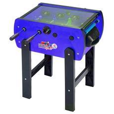 Biliardino calciobalilla calcio tavolo roby color cover blu calcio balilla