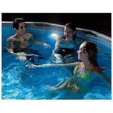 28692 Luce a led con funzione idroelettrica per piscine con attacco da 38 mm