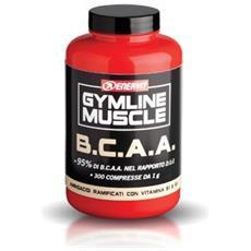 Amminoacidi Gymline Muscle B. c. a. a. 300 Compresse Unica