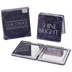 Star Struck Specchietto Da Borsetta Shine Bright (taglia Unica) (nero / argento)