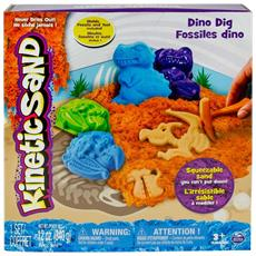Kinetic Sand - Dino - Kit Dinosauri
